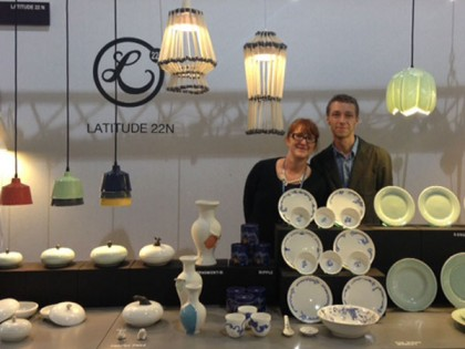 LATITUDE 22N AT MAISON & OBJET FALL 2013 / THE IMAGES